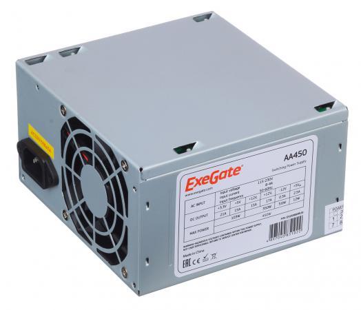 Блок питания ATX 450 Вт Exegate AA450 бп atx 450 вт exegate aa450