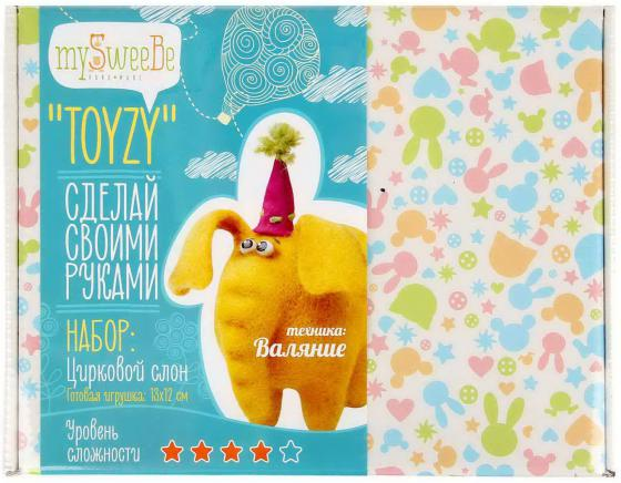 цена на Набор для валяния Toyzy Слон TZ-F003