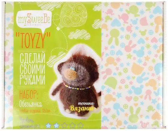 Набор для вязания Toyzy Обезьянка TZ-K006 набор для вязания toyzy кот грустик tz k001
