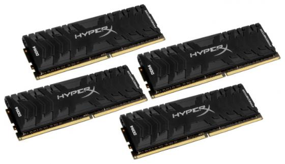 Оперативная память 32Gb (4x8Gb) PC4-25600 3200MHz DDR4 DIMM Kingston HX432C16PB3K4/32