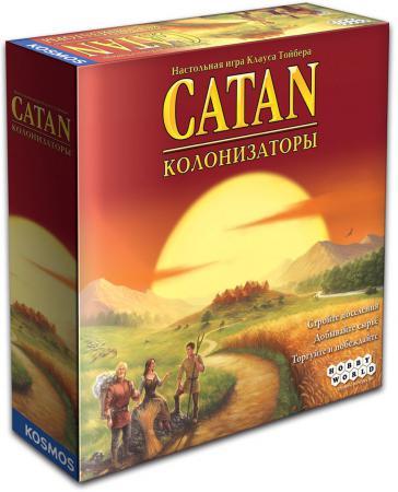 Настольная игра семейная Hobby World Колонизаторы 1576 настольная игра колонизаторы европа hobby world hw1134