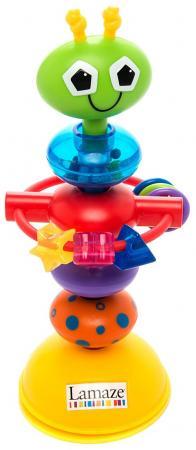 Развивающая игрушка LAMAZE Деловой жучок LC27224 развивающая игрушка tomy lamaze с присоской на стульчик веселые утята
