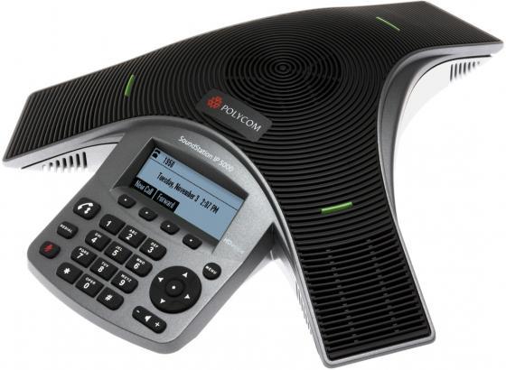 Телефон Polycom SoundStation IP 5000 для конференций черный 2200-30900-114 телефон