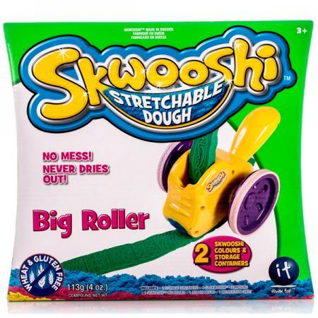 Набор для творчества Skwooshi Большой роллер 1 цвет масса для лепки candy clay набор круассан