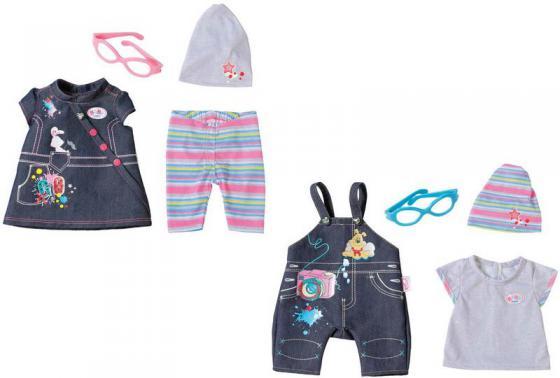 Одежда для кукол Zapf Creation BABY born Одежда Джинсовая одежда для кукол zapf creation baby born халат с капюшоном веш