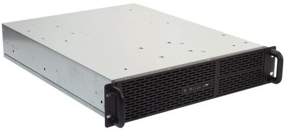 Серверный корпус 2U Procase B205-B-0 Без БП серебристый чёрный