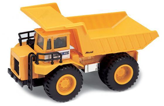 Машина Welly Карьерный самосвал 21 см оранжевый 99612 игрушка welly модель машины карьерный самосвал 99612