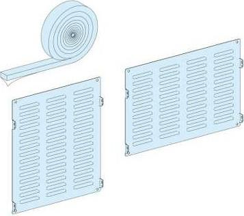 Комплект сальников Schneider Electric 08711 панель лицевая schneider electric actassi 1 модуль белый 24 шт vdi88240