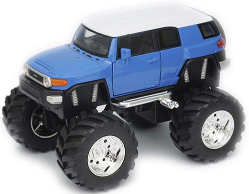 пороги toyota fj Автомобиль Welly Toyota FJ Cruiser - Big Wheel 1:34-39 47003
