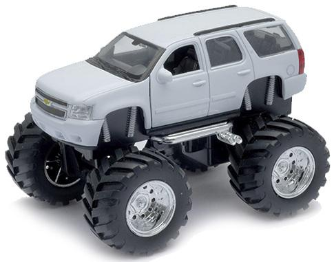 Автомобиль Welly Chevrolet Tahoe - Big Wheel 1:34-39 chevrolet tahoe у дилера