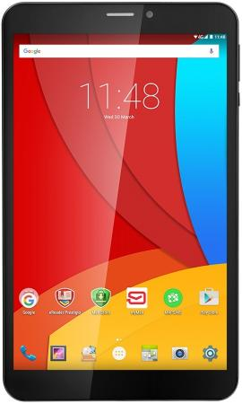 Планшет Prestigio MultiPad Wize 3508 4G 8 16Gb серый черный Wi-Fi Bluetooth 3G 4G Android PMT3508_4G_D_BK_GY