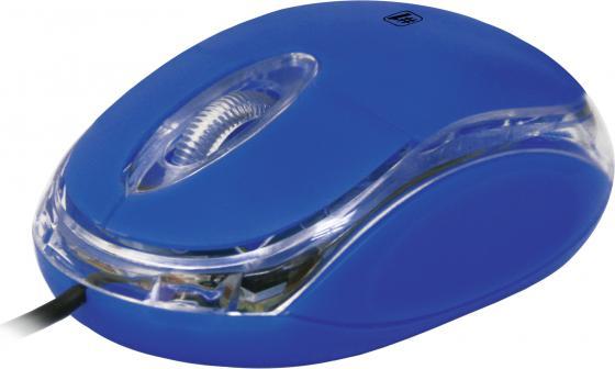 все цены на Мышь проводная DEFENDER MS-900 синий USB 52902 онлайн