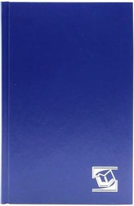 Ежедневник недатированный Index IDN014/A5/BU/R A6 бумвинил
