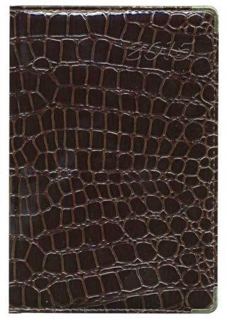 Ежедневник недатированный Index Croco A5 искусственная кожа IDN009/A5/BR зеркало croco 220 х 80 см