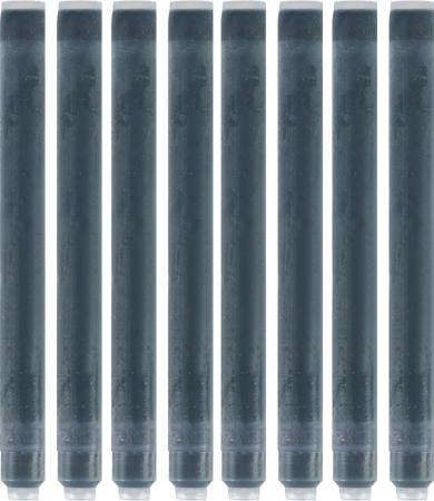 Фото - Картридж Waterman 52001 8 шт черный для перьевой ручки LONG WAT-S0110850 lamy картридж для перьевой ручки синий 5 шт