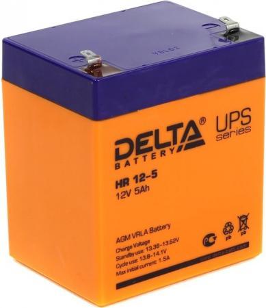 Батарея Delta HR 12-5 5Ач 12B батарея delta hr 12 4 5 12v 4 5ah