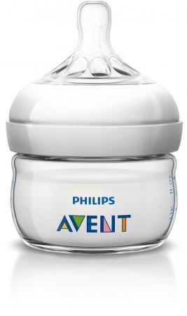 Бутылочка Avent Natural Pp, 60 мл, сил. соска, медл. поток, 0+, 1 шт., арт. 86021 avent standard бутылочка для кормления 300 мл 1 шт