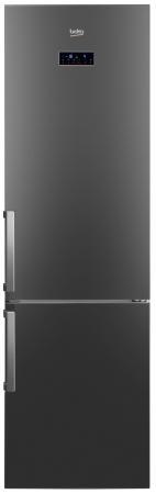 Холодильник Beko RCNK356E21X серебристый