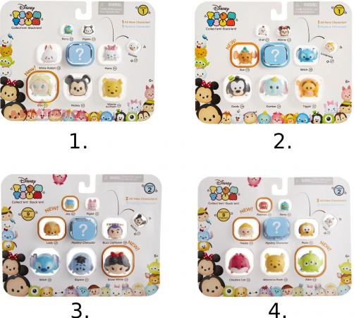 Фигурка коллекционная TSUM TSUM Jakks Pacific уп-ка из 9 шт., 8 шт. в коробе 997000 в ассортименте computer acc water cooling flow meter pom 2 ways g1 4 port female to female flow meter indicator for pc water cooling system