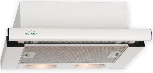 Вытяжка встраиваемая Elikor Интегра белый 50П-400-В2Л