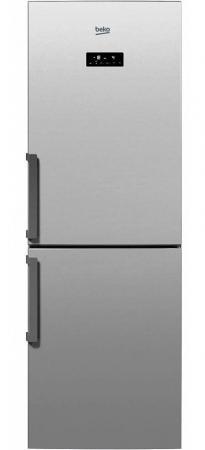 beko rcnk 320e21 x Холодильник Beko RCNK296E21S серебристый