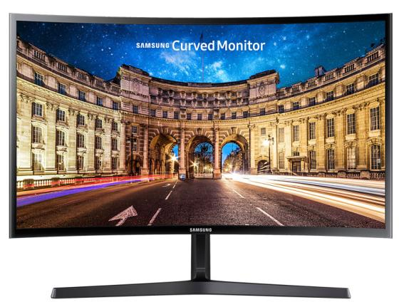"Монитор 23"" Samsung C24F396FHI черный VA 1920x1080 250 cd/m^2 4 ms HDMI VGA Аудио"