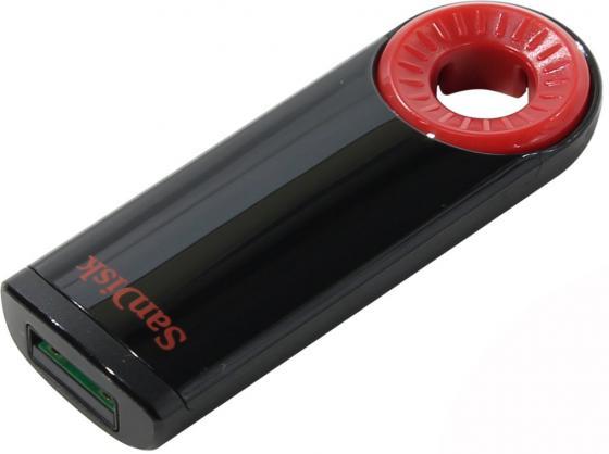 Флешка USB 32Gb SanDisk Cruzer Dial SDCZ57-032G-B35 черный красный usb flash накопитель 64gb sandisk cruzer dial sdcz57 064g b35 usb 2 0 черный