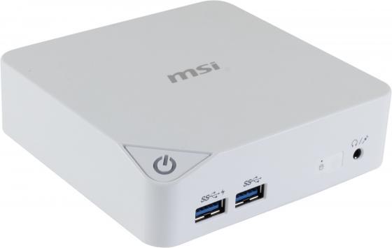 Неттоп MSI Cubi-227RU Intel Celeron-3215U 2Gb 500Gb Intel HD Graphics Windows 10 белый 9S6-B09612-227 G57-B1A0012-Y47 ноутбук asus f553sa xx305t 15 6 1366x768 intel celeron n3050 500gb 2gb intel hd graphics черный windows 10 home 90nb0ac1 m06000