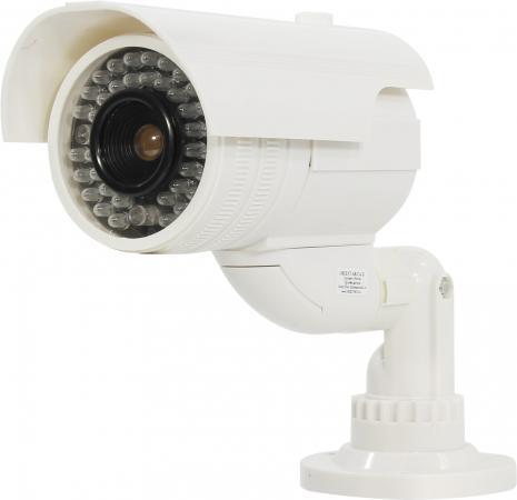 Муляж камеры видеонаблюдения ORIENT AB-CA-21 LED мигает для наружного наблюдения муляж камеры видеонаблюдения orient ab ca 11b черный led мигает