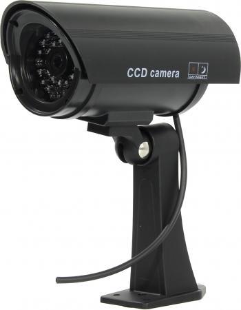 Муляж камеры видеонаблюдения ORIENT AB-CA-11B LED мигает для наружного наблюдения цена