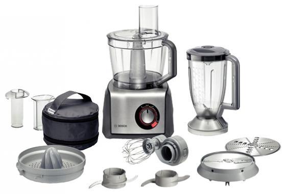 Кухонный комбайн Bosch MCM68840 серебристо-серый bosch mcm68840