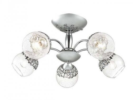 Потолочная люстра Lumion Nevette 3020/5C lumion 3020 5c ln16 000 хром стекло метал декор люстра потолочная e14 5 60w 220v nevette