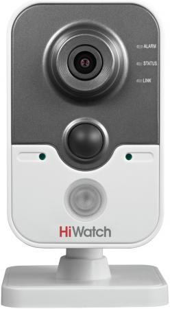"Видеокамера IP Hikvision Hi-Watch DS-I114 2.8мм 1/4"" 1280х720 H.264 MJPEG Day-Night PoE ip видеокамера hikvision ds 2cd2642fwd izs 2 8 12мм 1 3 2688х1520 h 264 mjpeg h 264 day night poe"