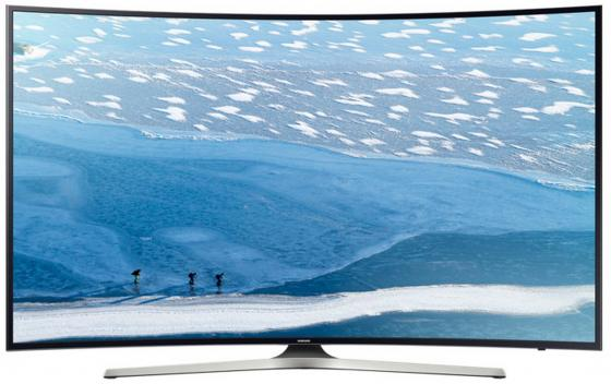 Телевизор LED 65 Samsung UE65KU6300UXRU черный 3840x2160 Wi-Fi Smart TV RJ-45 S/PDIF телевизор led 65 tcl l65c1cus curve черный серебристый 3840x2160 60 гц smart tv wi fi vga rj 45