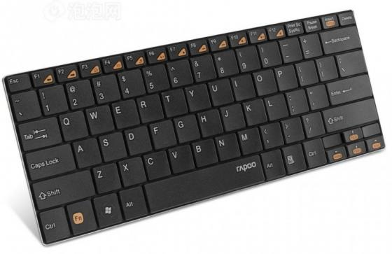 Клавиатура беспроводная Rapoo E9070 USB черный мышь rapoo n1162 белый