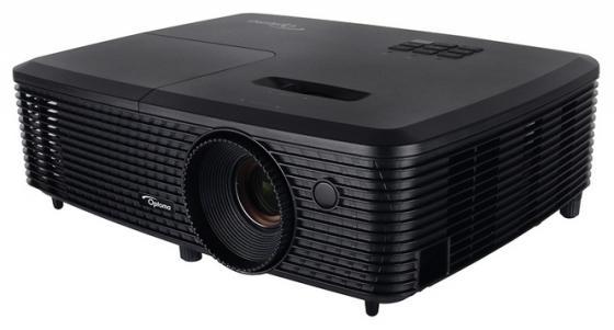 Проектор Optoma DS348 800x600 3000 люмен 2000:1 черный проектор optoma x340 1024x768 3100 люмен 22000 1 черный