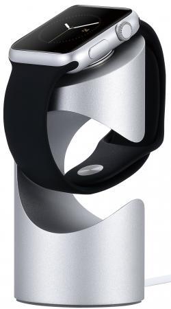 Подставка Just Mobile TimeStand 38mm серебристый ST-180SI аксессуар док станция apple watch just mobile st 180si