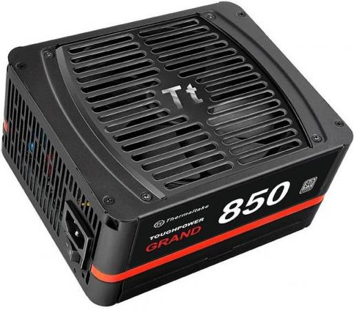 Блок питания ATX 850 Вт Thermaltake Toughpower Grand 850W Platinum TPG-0850FPCPEU - P