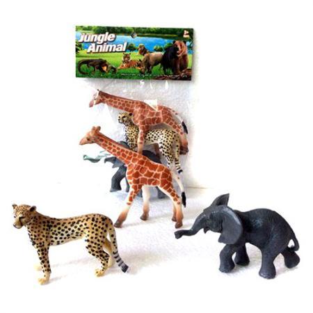 все цены на Набор фигурок Shantou Gepai Jungle animal 8 см 6927713583771
