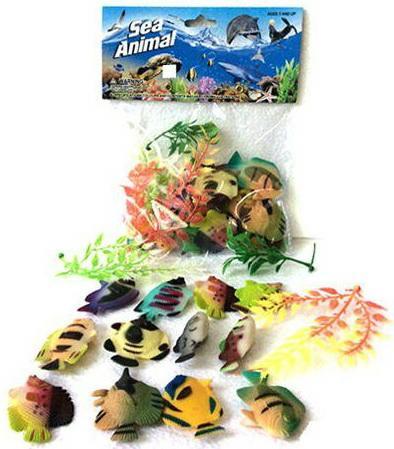 все цены на Набор фигурок Shantou Gepai Sea Animal 8 см 2C261-1