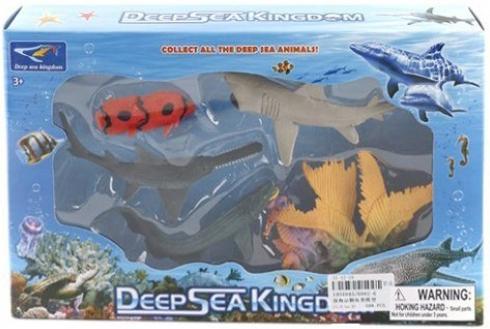 Набор фигурок Shantou Gepai Морское королевство 6002-6 игра shantou gepai набор супермаркет радочка 32 дет 66061