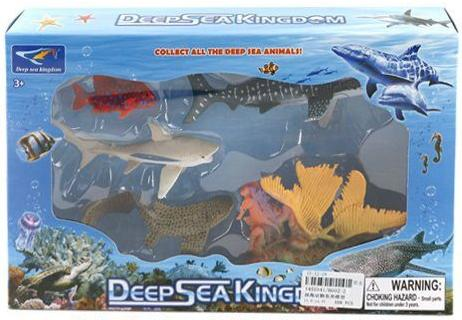 Набор фигурок Shantou Gepai Морское королевство 6002-2 набор фигурок shantou gepai дикие животные