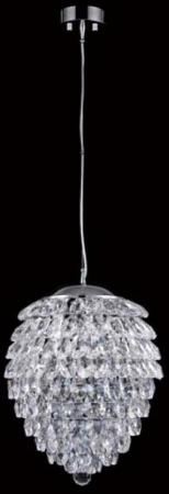 Подвесной светильник Crystal Lux Charme SP3+3 LED Chrome/Transparent