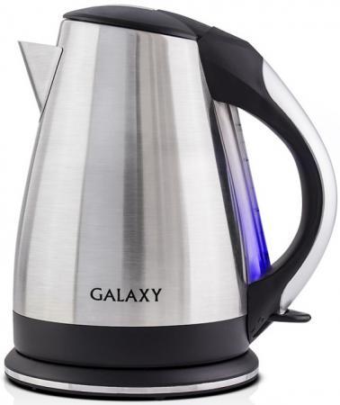 Чайник GALAXY GL0314 2200 Вт 1.8 л нержавеющая сталь серебристый чайник galaxy gl0316 2000 вт 1 8 л нержавеющая сталь серебристый