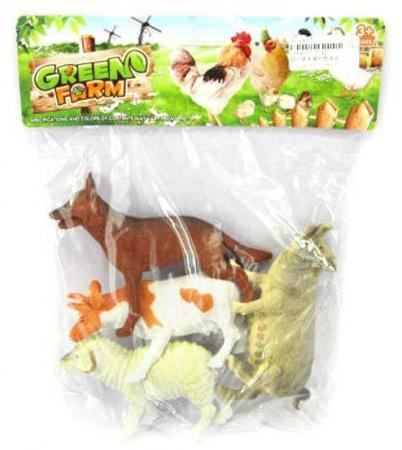 Набор фигурок Shantou Gepai Farm animal J142 музыкальные игрушки potex синтезатор animal farm 8 клавиш 686b