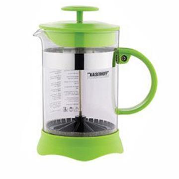 Френч-пресс Wellberg WB-9935 0.8 л пластик/стекло зелёный френч пресс wellberg trendy цвет оранжевый прозрачный 350 мл 9933 wb
