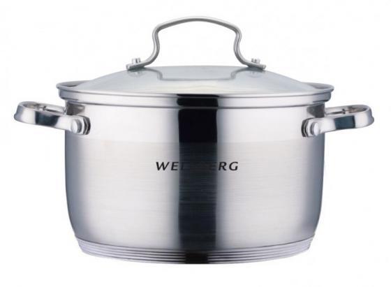 Кастрюля Wellberg WB-02174 16 см 1.9 л нержавеющая сталь цена
