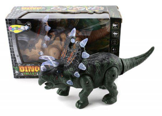 Интерактивная игрушка Shantou Gepai Динозавр от 3 лет зелёный NY005-A интерактивная игрушка shantou gepai гонщик от 3 лет цвет в ассортименте звук