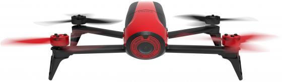 Квадрокоптер Parrot Bebop Drone 2 красный + джойстик Parrot SkyController PF726110 bebop drone skycontroller