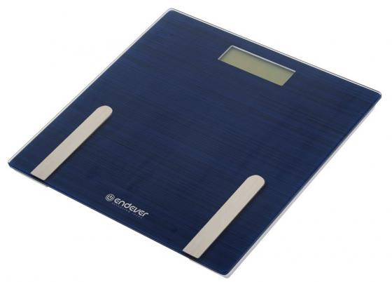 цена Весы напольные ENDEVER Aurora 550 синий